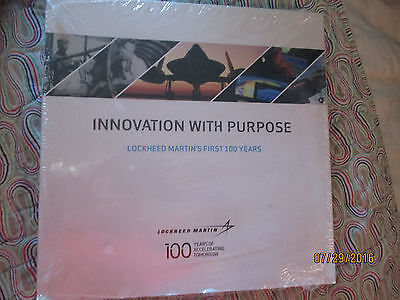 INNOVATION WITH PURPOSE: Lockheed Martin's First 100 years Book--new sealed-win2