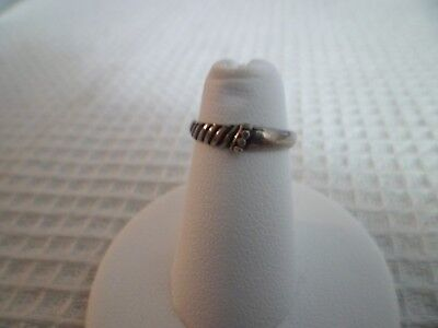Sterling Silver Open Toe Ring Adjustable Style 13 w/GiftBox/Giftbag Gift