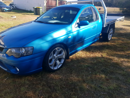 Falcon xr6t bf space cab alloy tray 6 speed manual