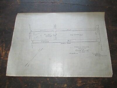 1874 Trace Survey, Somerville MA - 2 Blocks next to Foss Park, Broadway & Mystic