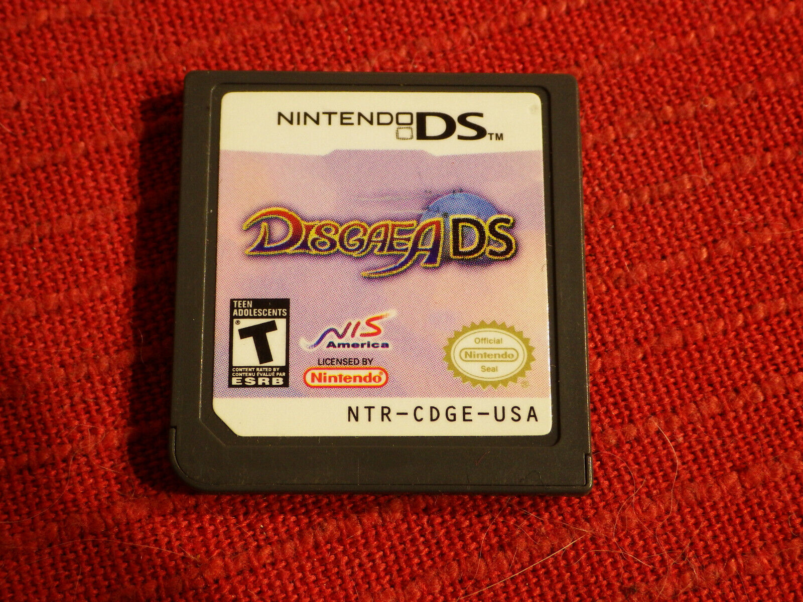 Disgaea Hour Of Darkness Nintendo DS Tested, Cartridge Only 2DS - $15.95