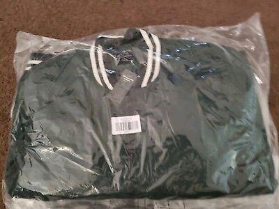 Abercrombie & Fitch Men's Varsity Bomber Jacket (Green)Size XLarge