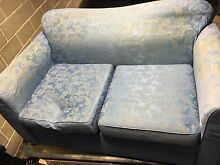 Blue 3 seater and 2 seater sofa Mona Vale Pittwater Area Preview