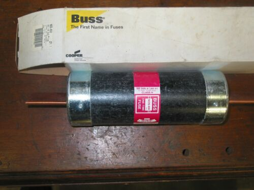 BUSS NOS600 ONETIME  600 AMP 600 VOLT FUSE  new in original bos