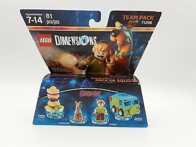 Lego 71206 Dimensions Team Pack Scooby Doo+Scooby Snack+Shaggy+Mystery Machine