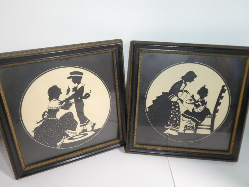Silhouette Pictures Set - Reliance Gift Bearer and Sewing Lesson Original Set