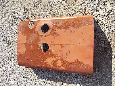 Farmall Sc Tractor Original Factory Ih Front Hood Cover Panel Over Engine Clips