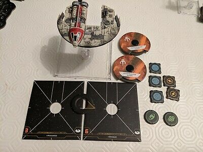 X Wing Miniatures 2.0 Jumpmaster 5000 + upgrades