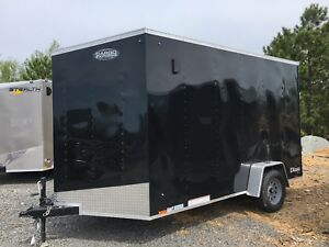 New 2019 6x12 enclosed cargo trailers! Best price guaranteed!