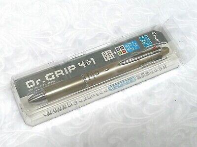 New Pilot Dr. Grip 41 Multi-function Pen Mechanical Pencil With Case Cgd