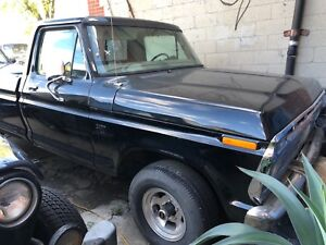 Unfinished Ford F100 for sale