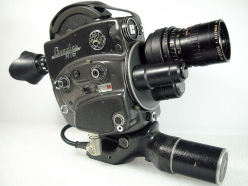 BEAULIEU R16 <Automatic> 16mm Movie Camera with Angenieux 2.2/17-68 Zoom Lens