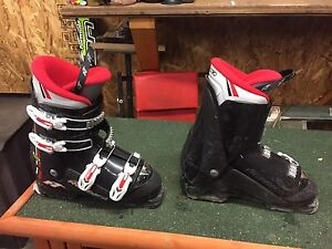 Kids skis and boots.