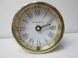 Antique Tiffany & Co. Non-Running Round Shelf Desk Clock