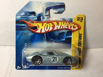 Hot Wheels, Rare 2007 SHORT CARD FERRARI 250LM