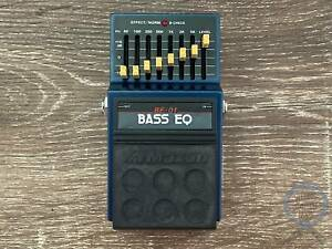 Maxon BE-01, Bass EQ, 8 Band, Made In Japan, 1980s, Vintage Effect Brisbane City Brisbane North West Preview