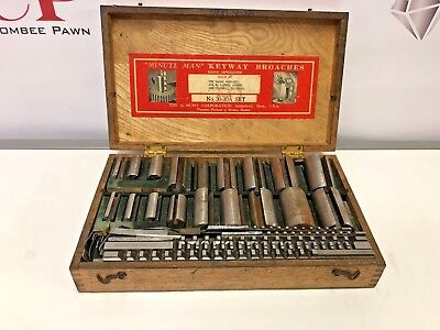 duMONT Minute Man® American Standard Keyway Broach Set no. 30-30a