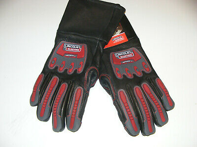 Genuine Lincoln Electric K3109 Roll Cage Welding Gloves Medium