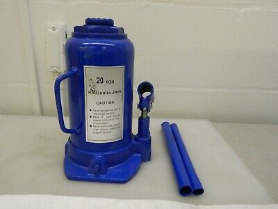 Worksmart Side Pump Bottle Jack 20 Ton Load Cap. Ws-mh-jack1-110