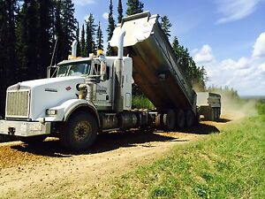 Gravel truck drivers wanted
