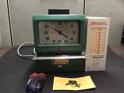 Acroprint 125 Ar3 Heavy Duty Time Clock