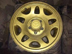 "Mazda/Ford  5 bolt 15"" rims"