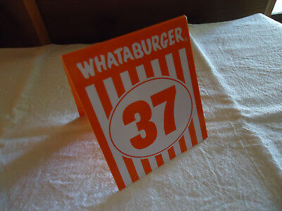 Whataburger Table Tent  37