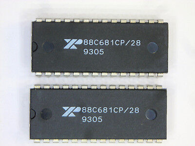 Xr88c681cp 28   Original  Exar  28P Dip Ic  2 Pcs