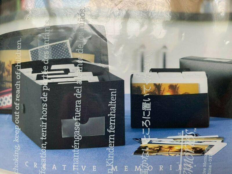 NIB Creative Memories MEDIUM POWER SORT BOX - holds 1200 photos