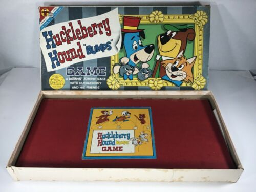 Vintage 1961 Huckleberry Hound Bumps game