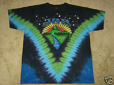Jerry Garcia Band JGB Mountain Cat S, M, L, XL, 2XL Tie Dye T-Shirt