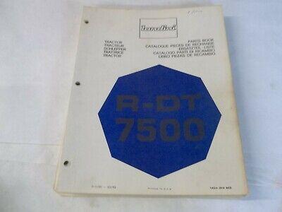 Landini R-dt 7500 Tractor Parts Book