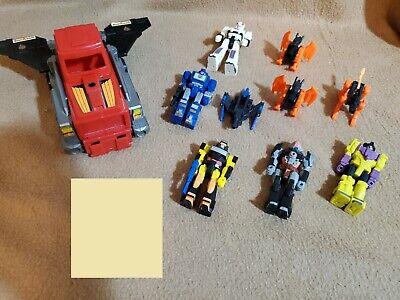 G1 Transformers 6 Action Master Lot Soundwave Devastator Prowl Jackpot Treadshot