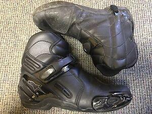 Alpinestars SMX-2 Motorcycle Boots Size 9/43