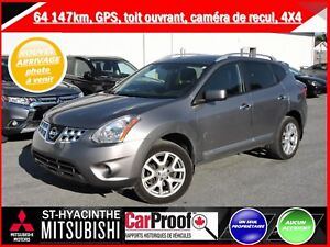 2013 Nissan Rogue 4x4 SV GPS toit ouvrant