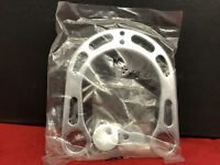 Brake Booster for Cantileverbremsen Aluminium Silver
