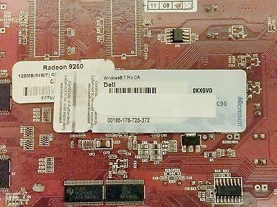 Scrap PC/Laptop Dell HP HDD RAM with Windows 7 Professional 32 / 64 bit COA