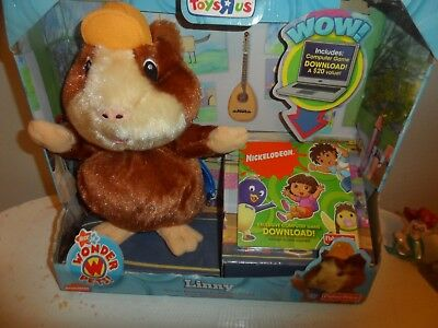 Nick Jr's Wonder Pets Exclusive Plush Linny With Computer Game Download  NEW