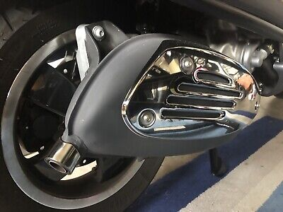Vespa Gtv Gt Gts 200-250-300 Original Exhaust with Only 1500 Miles On It