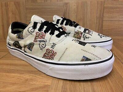 RARE🔥 VANS Era ATCQ A Tribe Called Quest Shoes Sz 9.5 Men's Low Top Sneakers