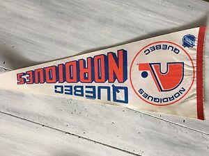 Quebec Nordiques Vintage Pennant