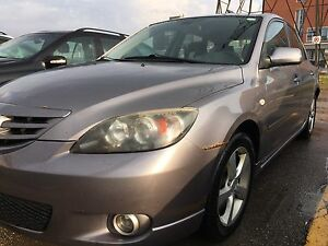 2005 Mazda 3 manual low mileage