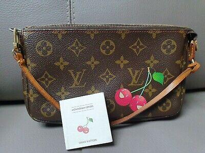 Authentic Louis Vuitton Cherry Pochette limited edition