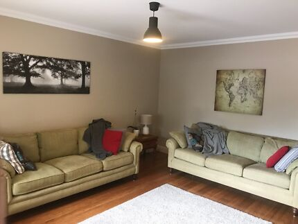 2 x 3 seat sofas great condition