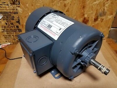 Brand New A O Smith 2 Hp 3 Phase Motor  H537 58 Diameter Shaft