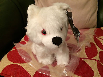 Ghost Game Of Thrones (Game Of thrones  Ghost   direwolf  pup soft toy)