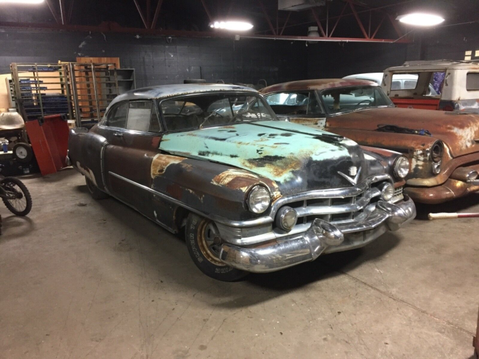 1951 Cadillac DeVille Coupe DeVille 1951 Cadillac CoupeDeVille, Rat Rod, Classic, Collector, Barn Find