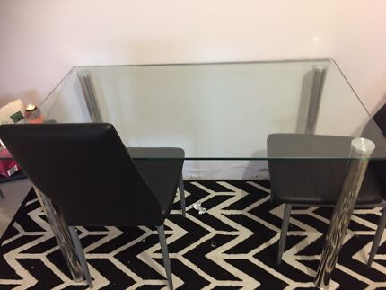 Fantastic furniture  Dining table and 4 Chairs. 2 X Fantastic Furniture Gigi Chairs   Sofas   Gumtree Australia