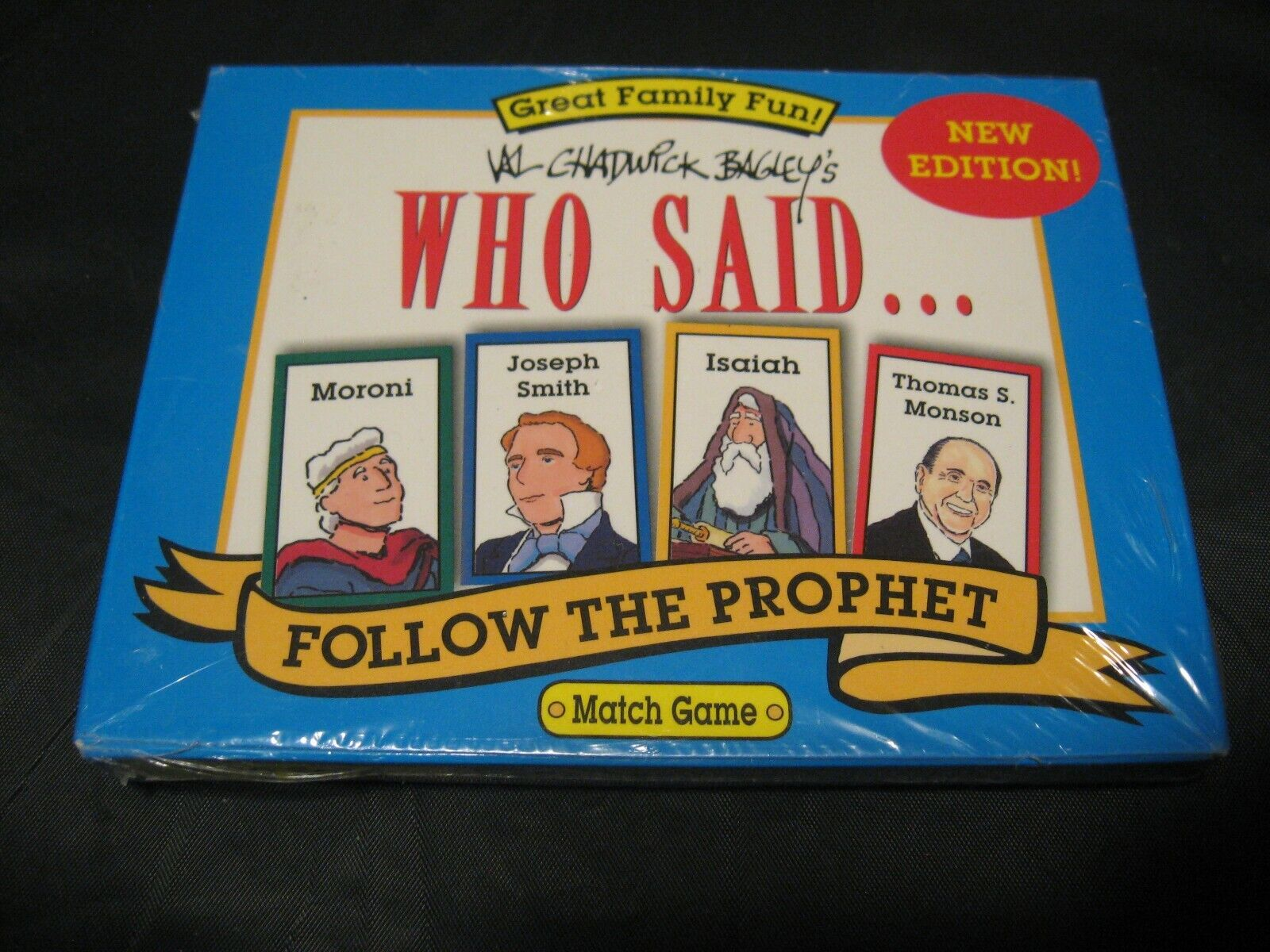 LDS Mormon Val Chadwick Bagley s WHO SAID Follow The Prophet Card Match Game - $9.99