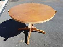 Solid pine dining table (it will be - unfinished project) Nerang Gold Coast West Preview